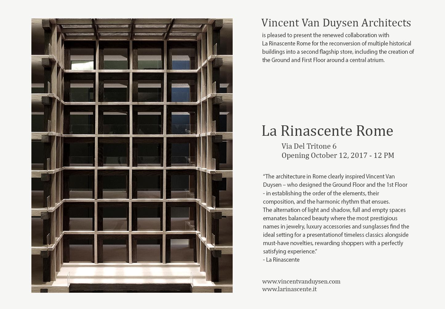 La Rinascente_Vincent Van Duysen Architects