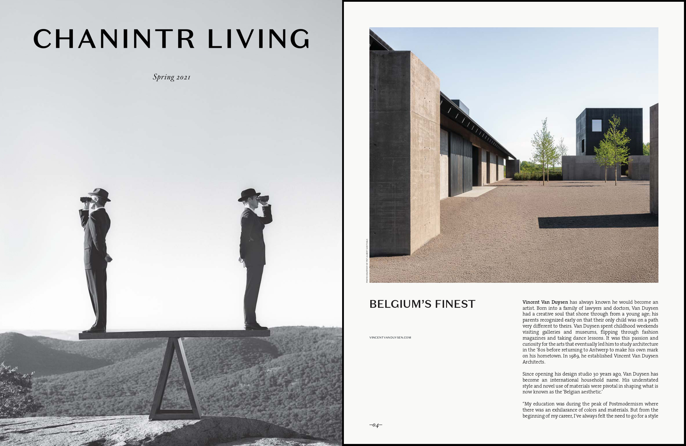 Vvda 2021 Chanintr Living Spring 2021 Journal Coverpage