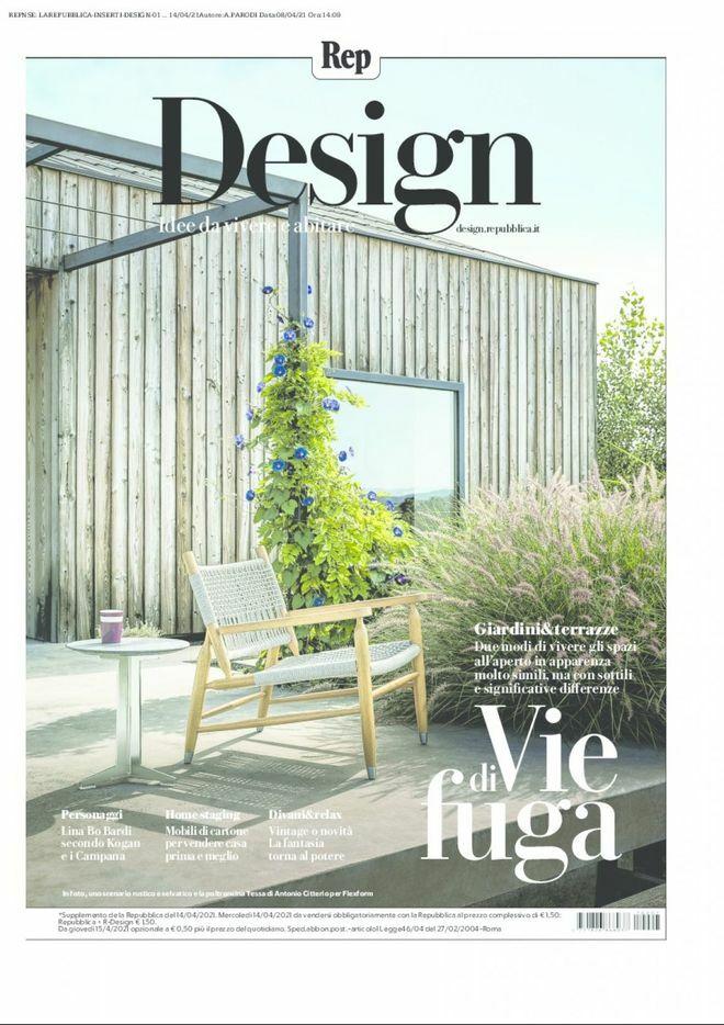 Vvda 2021 La Repubblica Suppl  R Design 14 04 2021 Cover