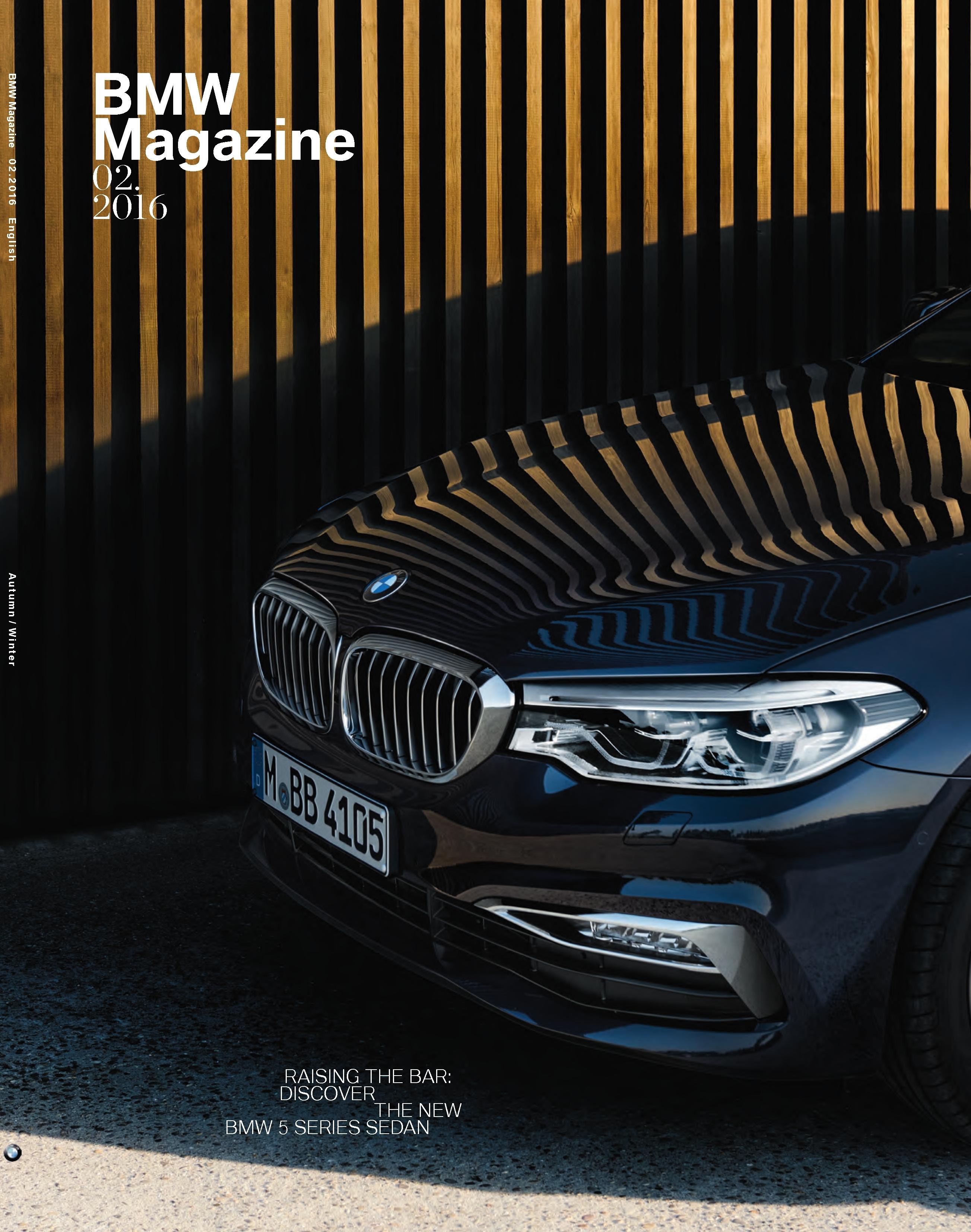 Bmw Magazine En