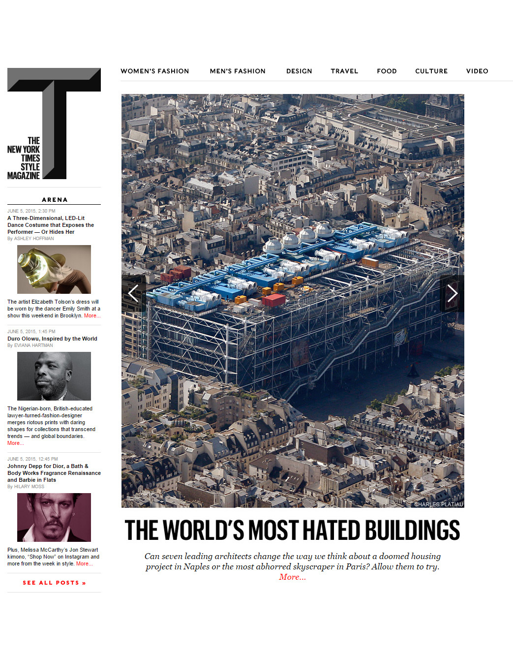 Seven Leading Architects Defend The World S Most Hated Buildings New York Times T Magazine En
