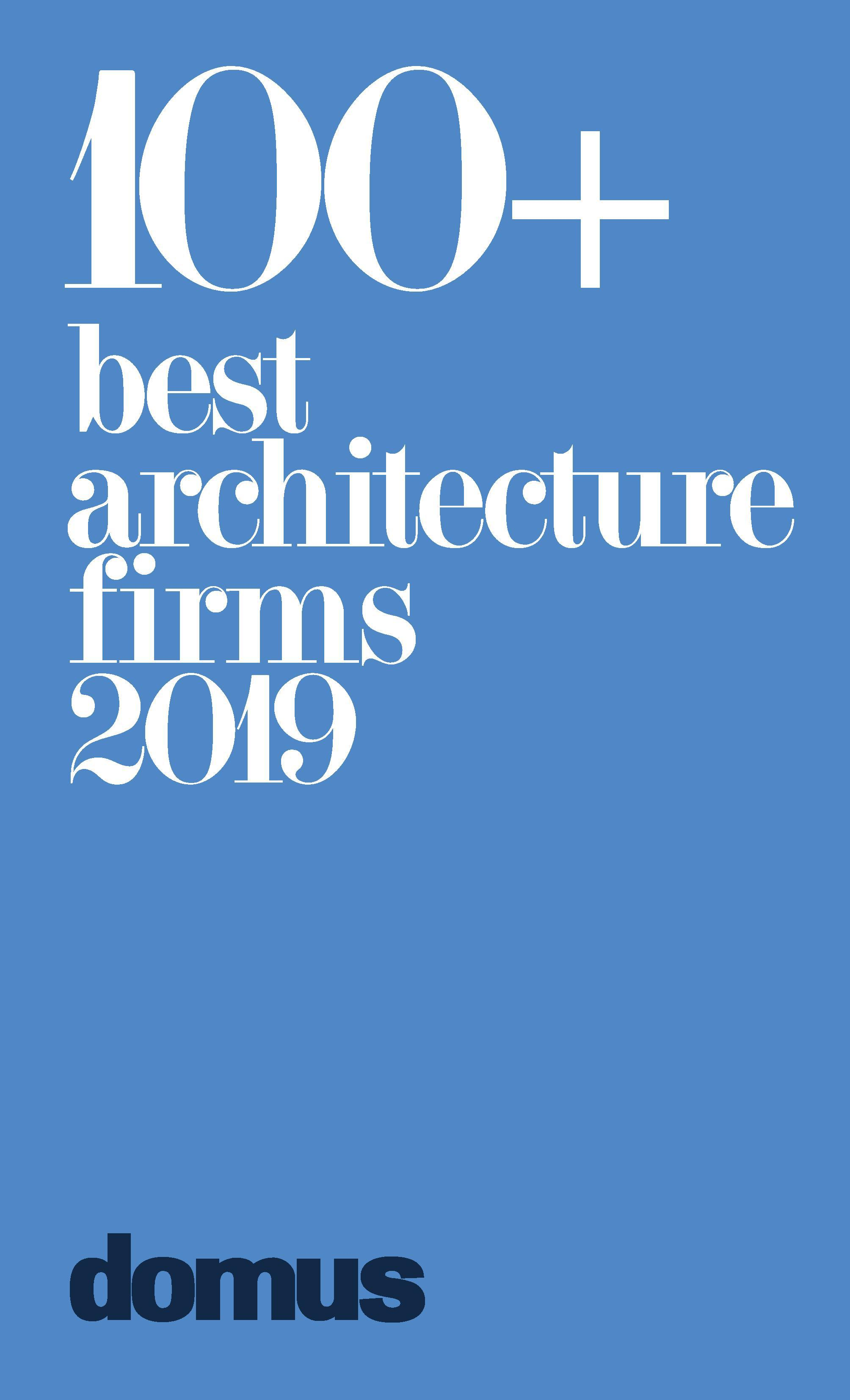 Pub 2019 Domus 100 Best Architecture Firms