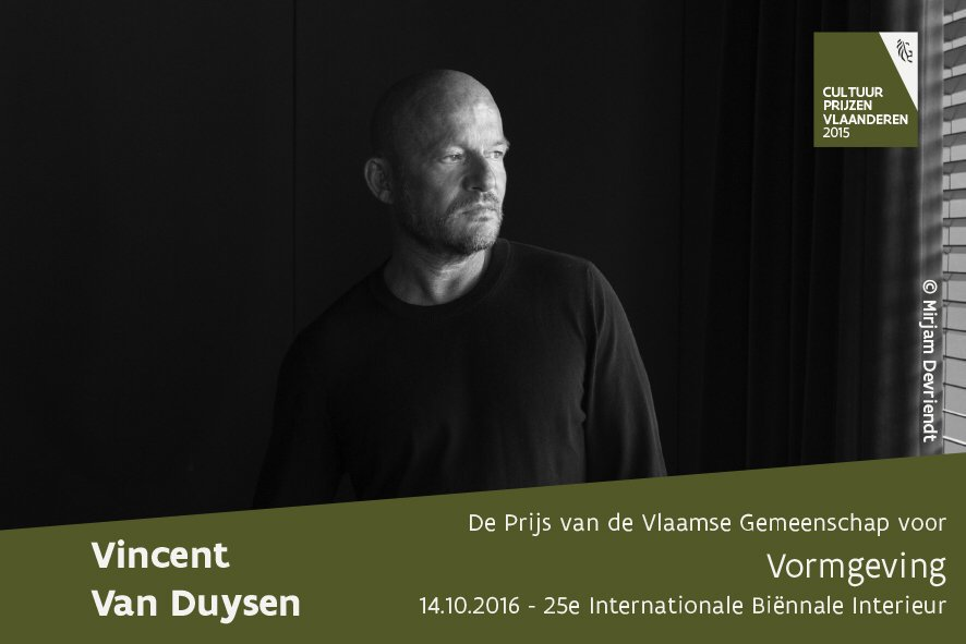Flemish Culture Award For Design 2015 En