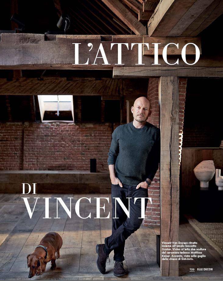 L Attico Di Vincent Elle Decor Italia En