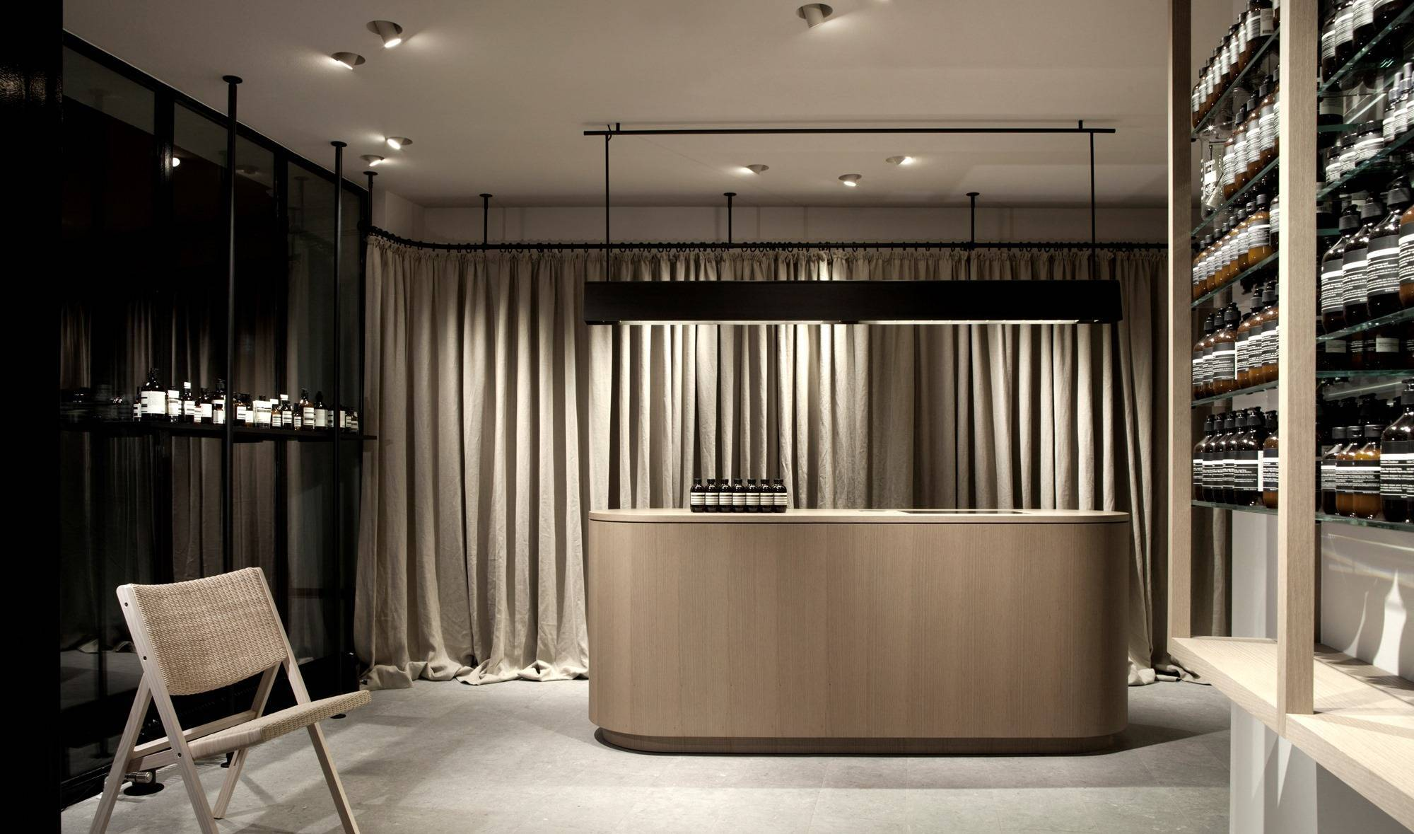 Aesop vincent van duysen for Interior designer hamburg