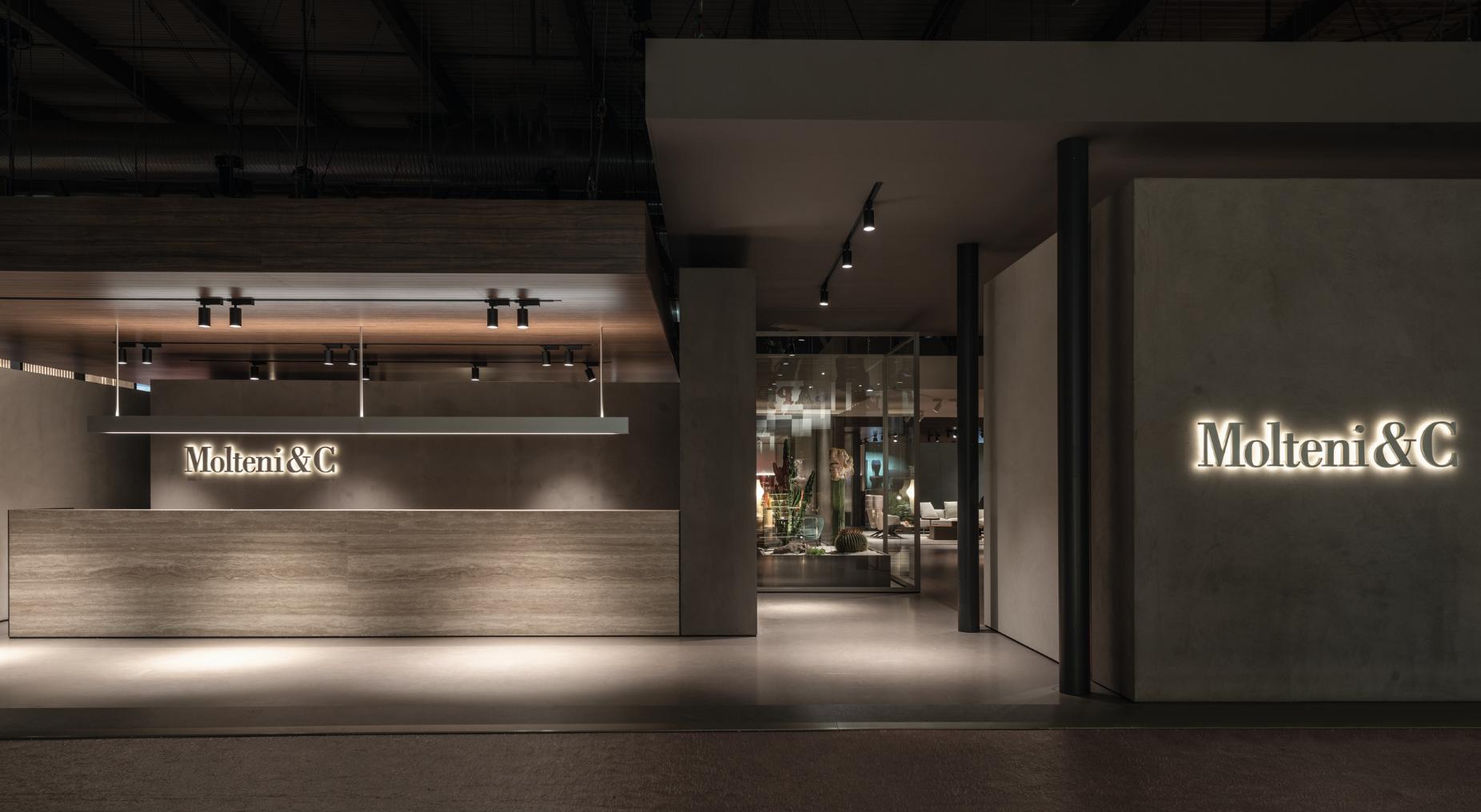 VVDA_2019_Molteni&C Exhibition Stand Il Salone Del Mobile 2