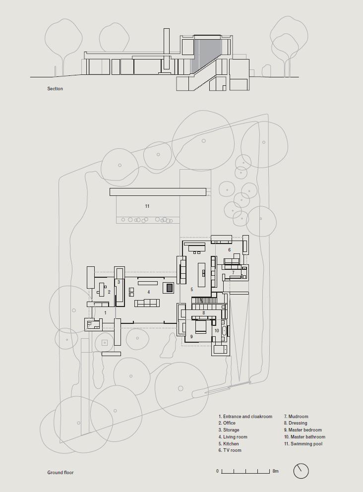 Vvda Ba Residence Plan And Elevation