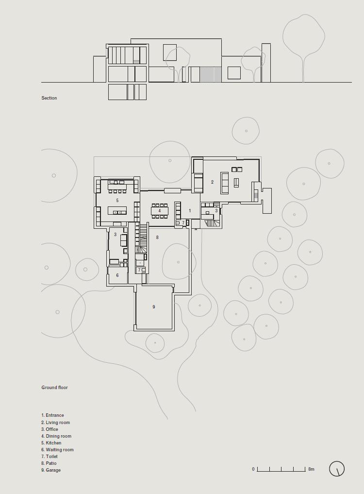 Vvda Db Residence Site Plan