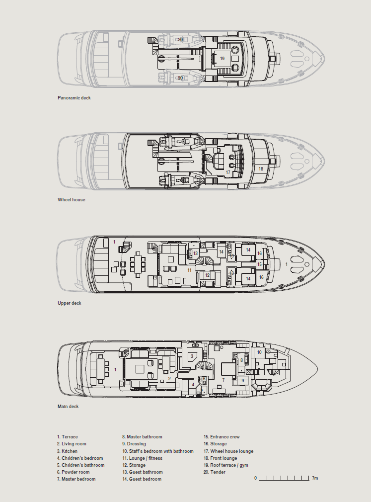 Vvda Rh3 Expedition Yacht Plans