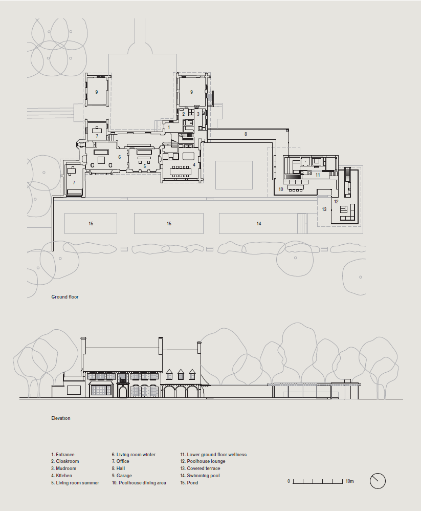 Vvda Vdc Residence Elevation And Plan