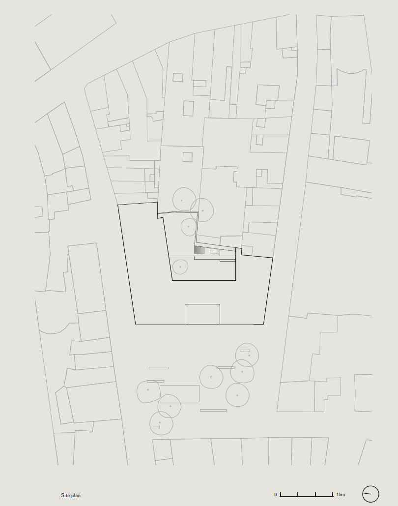 Vvda Youth Hostel Site Plan